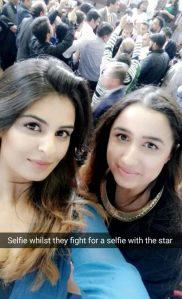 Amani and Kiran