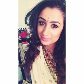 British Bindi#s Kiran wearing No7 BB Cream
