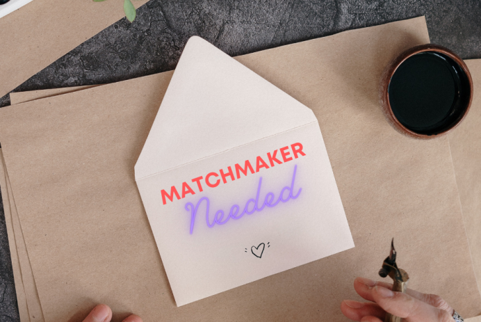 Matchmaker needed on envelope